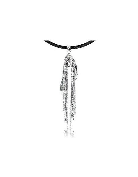 Orlando Orlandini Flirt - Pendentif or 750/1000 avec diamant 0.02Ct
