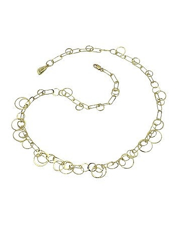 Orlando Orlandini - Star - 18K Yellow Gold Circles Necklace