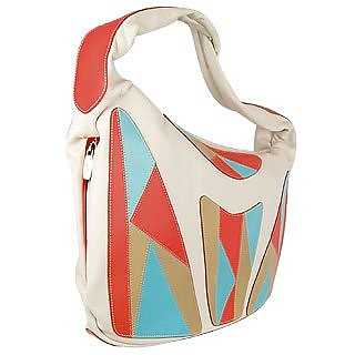 Leather Patchwork Tote Bag - Paolo Bianchi
