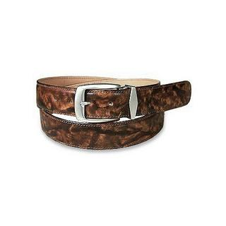 Pelletterie Fiorentine Brown Calf Leather Belt
