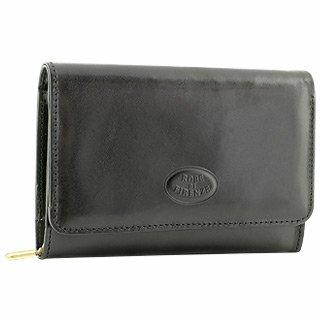 Robe Di Firenze  Black Leather Wallet