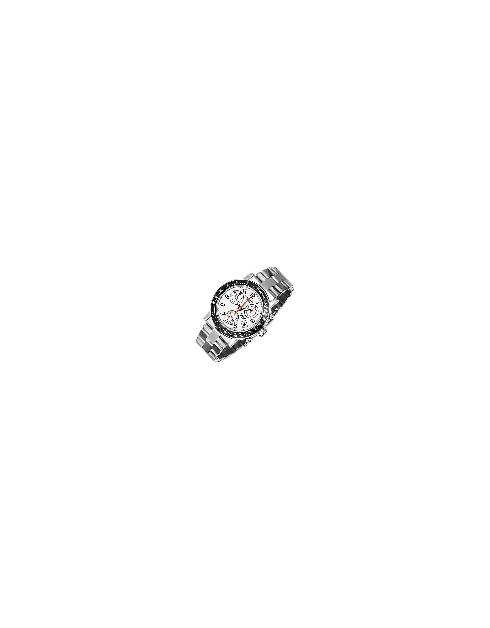 Raymond Weil Men's Watches, W1 - White Stainless Steel Chronograph Watch w/ Tachymetre