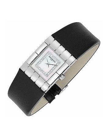 Raymond Weil - Tema - Ladies' Diamond River Leather Band Watch
