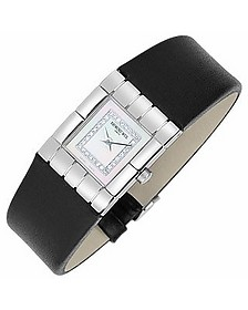 Tema - Ladies' Diamond River Leather Band Watch - Raymond Weil