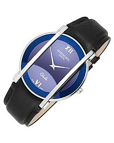 Othello - Men's Stainless Steel and Leather Watch - Raymond Weil