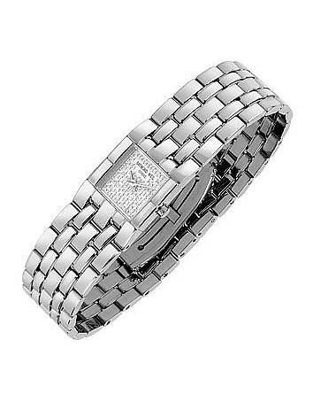 Raymond Weil - Ladies' Diamond Pave Dial Stainless Steel Watch