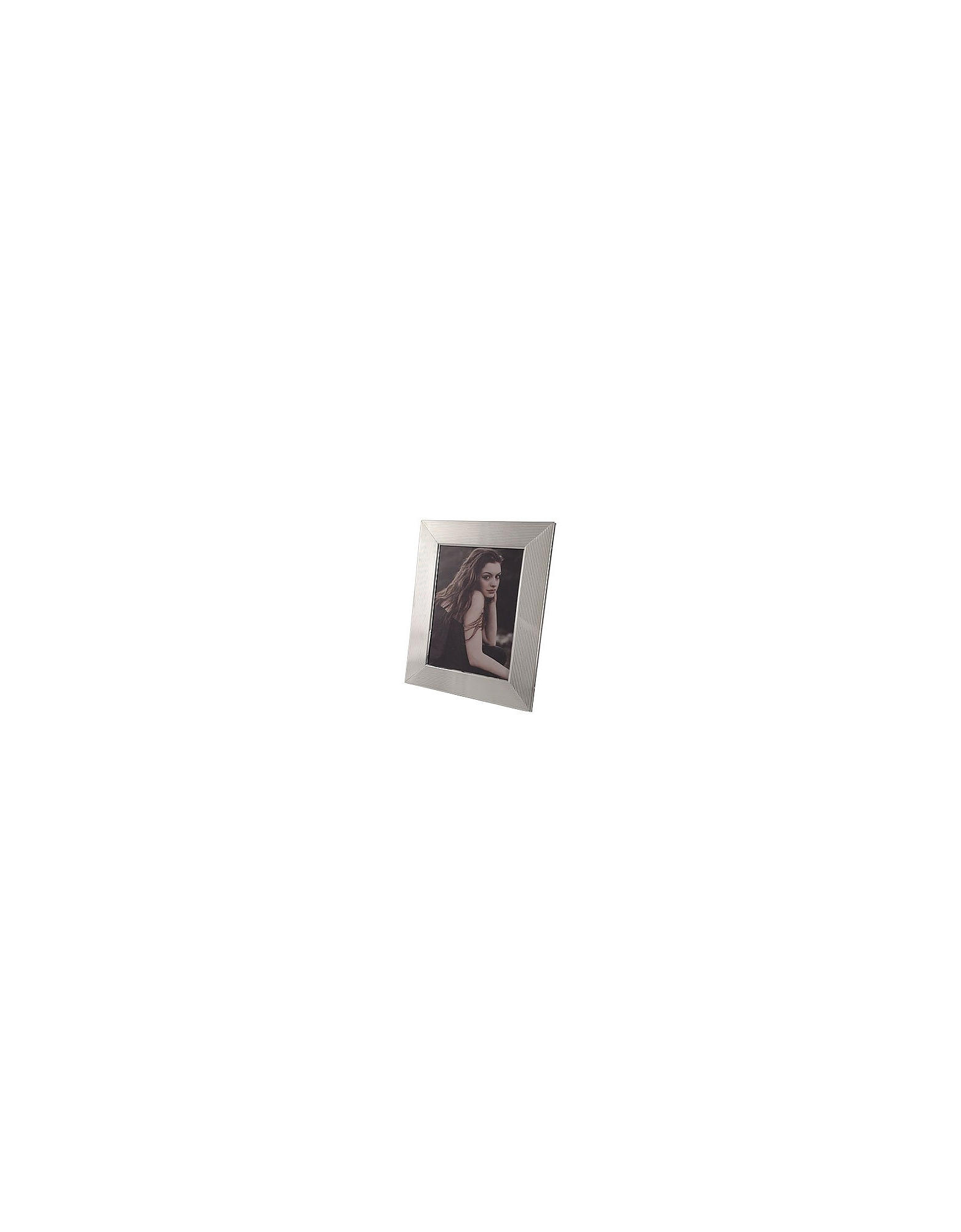 Forzieri Designer Picture Frames & Albums, Sterling Silver Guilloche' Picture Frame
