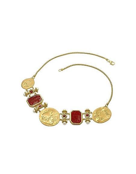 Tagliamonte Collection Classiques - Collier or 750/1000 et rubis