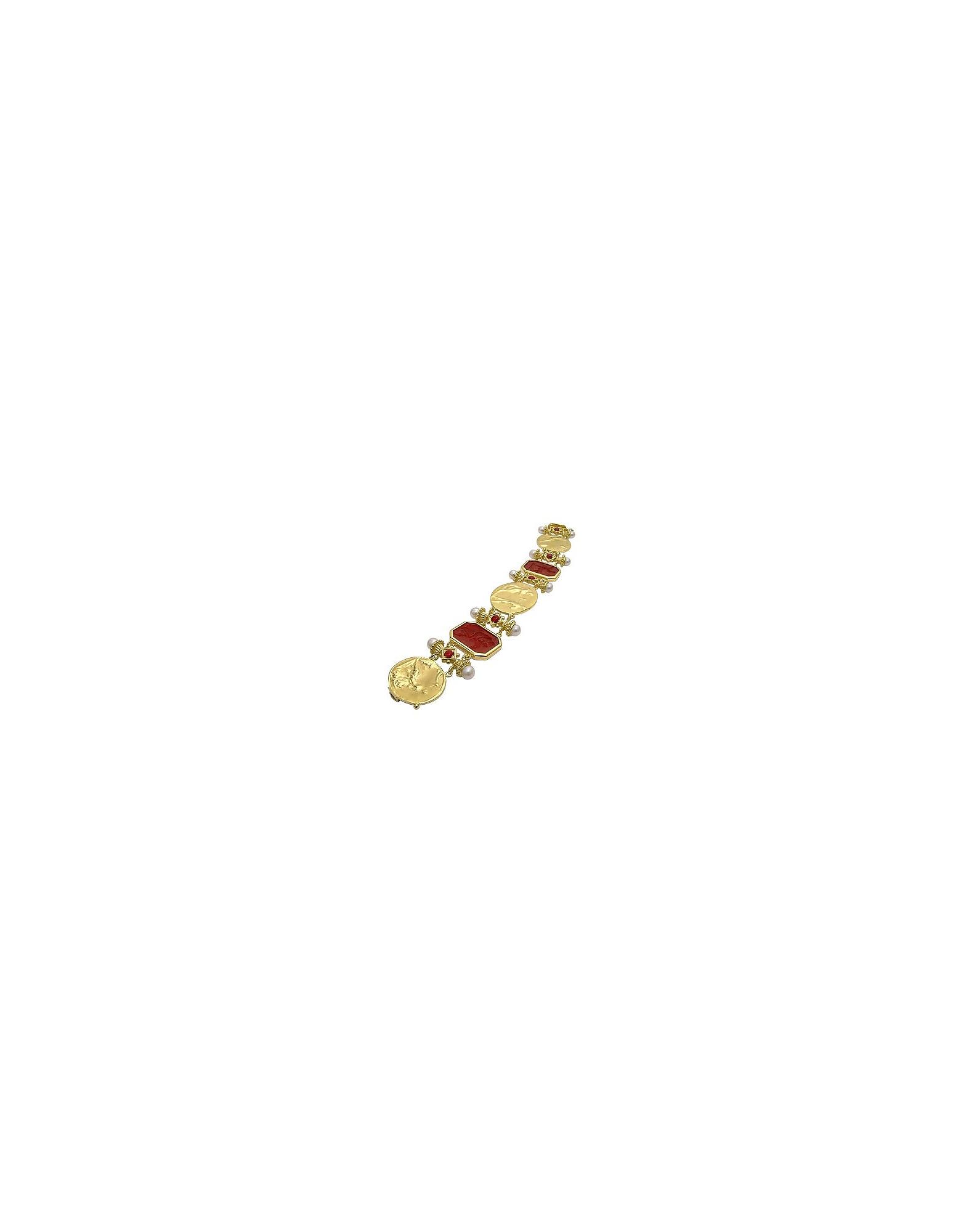 Classica Collection - Braccialetto in oro 18ct e rubino