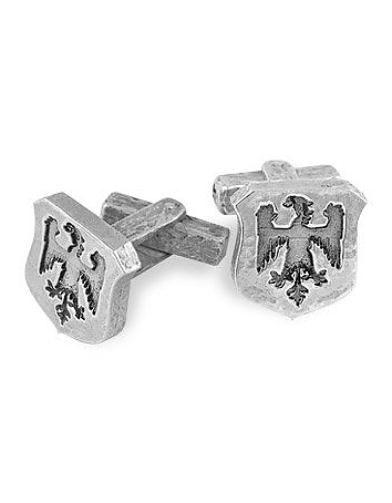 Torrini - Sterling Silver Eagle-Crest Cufflinks