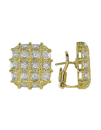 Torrini - Wallstreet - 18K Yellow Gold Diamond Earrings