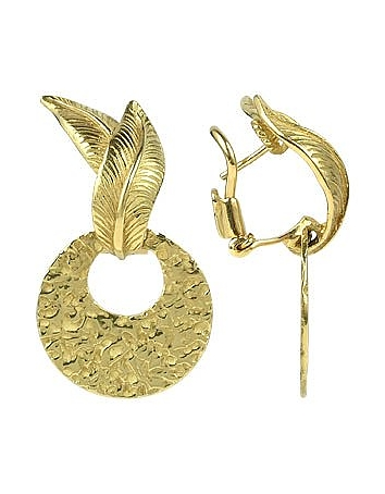 Torrini - Victoria - 18K Yellow Gold Chiselled Earrings