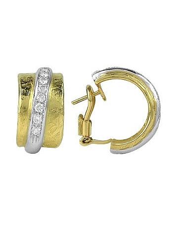 Torrini - Nancy - 18K Yellow Gold and Diamond Earrings