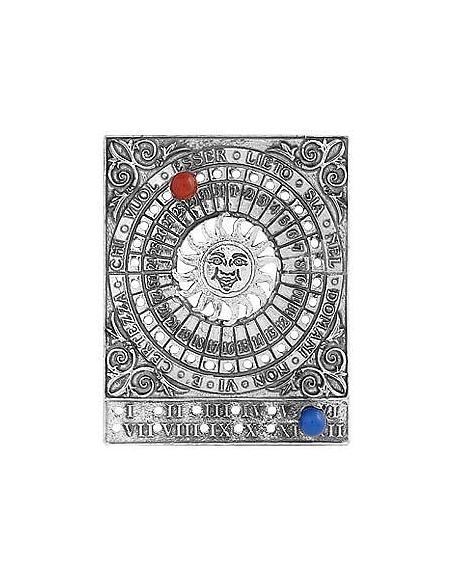 Torrini Calendario Perpetuo in Lorenzo de' Medici Argento con Pietre Semi Preziose