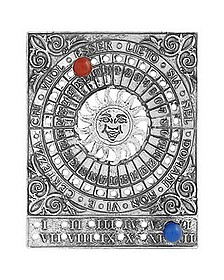 Lorenzo's Sterling Silver Perpetual Calendar - Torrini