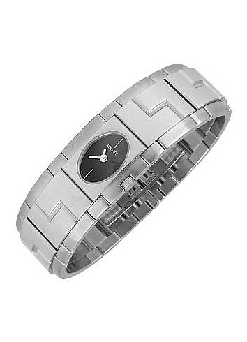 Sapho - Stainless Steel Oval Dial Watch - Versace
