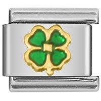 Zoppini  Four-Leaf Clover Link