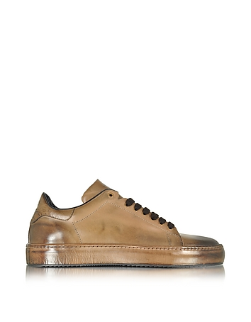 Cesare Paciotti - Dune Aged Leather Men's Sneaker
