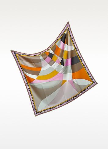 Fantasia Silk Square Scarf - Emilio Pucci