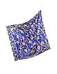 Blue and Yellow Silk Ranuncoli Print Square Scarf - Emilio Pucci