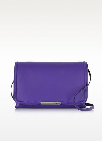 Violet Leather Shoulder Bag - Emilio Pucci