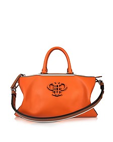 Orange Leather Boston Bag - Emilio Pucci
