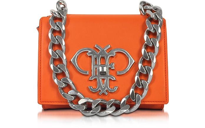 Orange Leather Shoulder Bag - Emilio Pucci