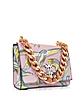 Pink Saffiano Leather Bird Print Hand Bag - Emilio Pucci