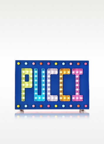 Signature Disco Clutch w/Beads and Lights - Emilio Pucci