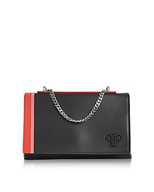 Black Leather Shoulder Bag - Emilio Pucci