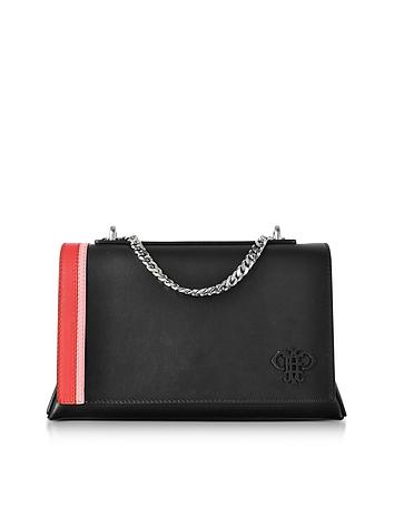 Emilio Pucci - Black Leather Shoulder Bag