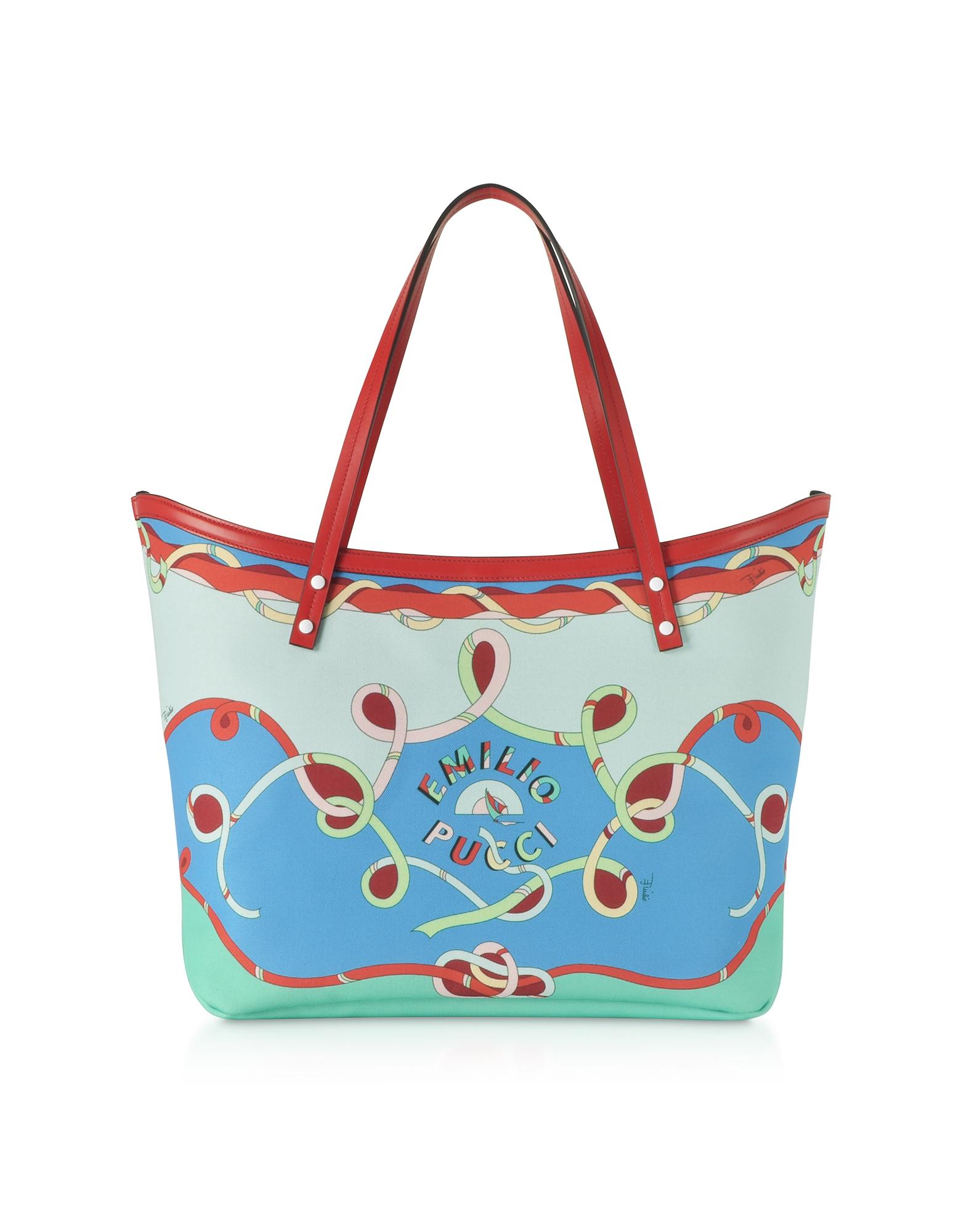 Cornflower Tote Bag w/Pouch