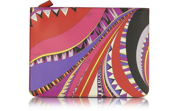 Niki Signature Print Cosmetic Pouch - Emilio Pucci