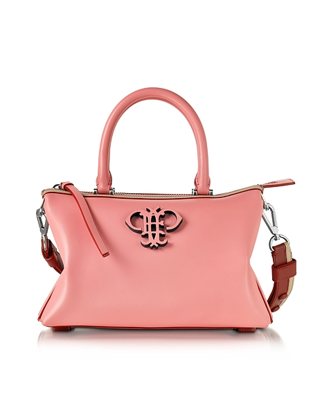 Foto Emilio Pucci Boston Bag con Tracolla in Pelle Rosa Shell Borse donna