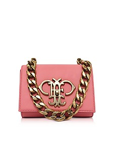Shell Pink Leather Small Shoulder Bag - Emilio Pucci