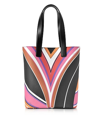 Stella Printed Eco Leather Medium Tote