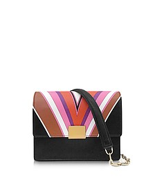 Stella Printed Eco Leather Shoulder Bag - Emilio Pucci