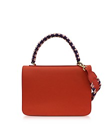 Leather Mini Expanding Shoulder Bag - Emilio Pucci