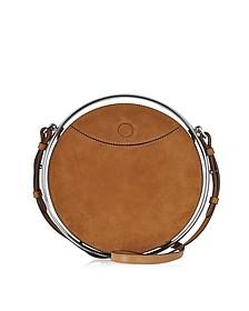 Senape Suede Circle Shoulder Bag - Emilio Pucci