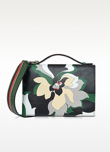 Multicolor Leather Shoulder Bag - Emilio Pucci