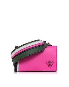 Fuchsia Leather Shoulder Bag - Emilio Pucci