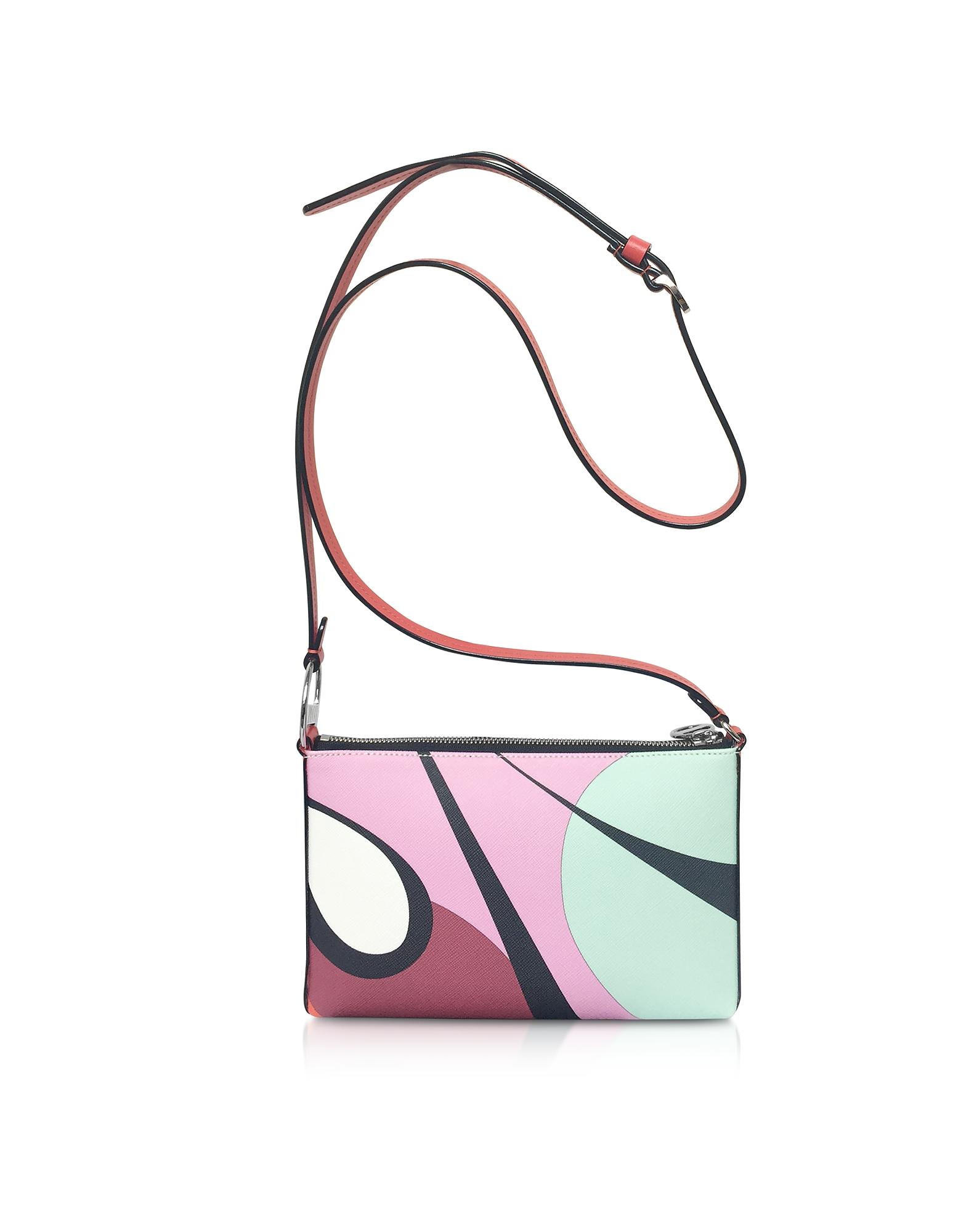 Emilio Pucci Designer Handbags, Alex Print Mini Crossbody Bag