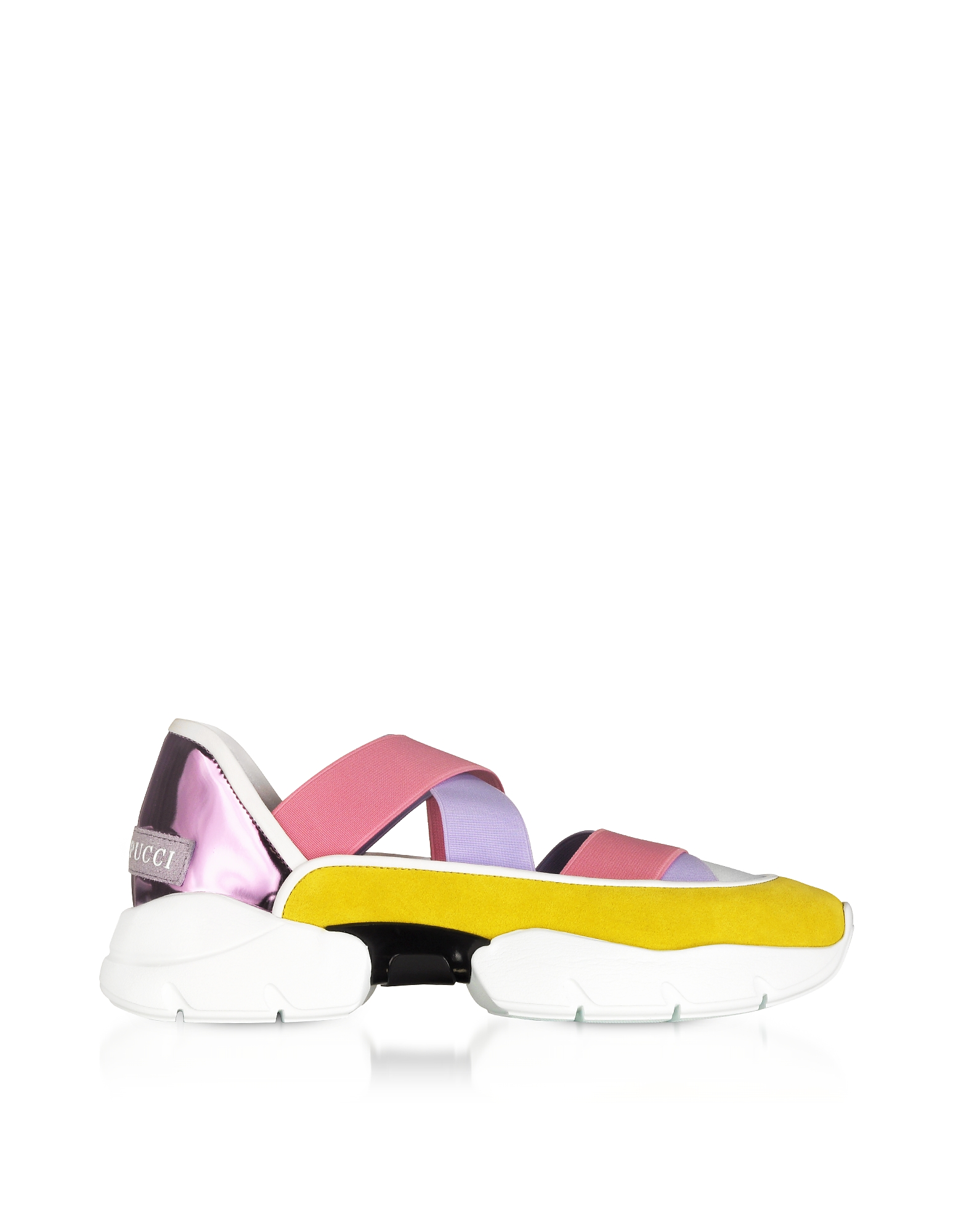 Emilio Pucci Shoes, City Dance Suede Sneakers