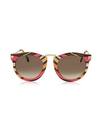 Emilio Pucci - EP25 Fantasy Acetate Frame Women's Sunglasses
