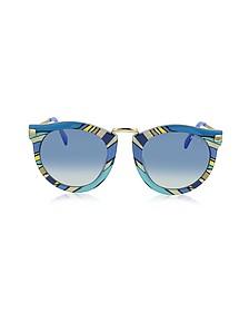 EP25 Fantasy Acetate Frame Women's Sunglasses  - Emilio Pucci