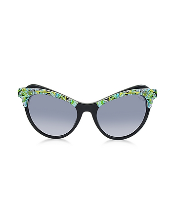 Emilio Pucci - EP35 Fantasy Acetate Frame Cat Eye Women's Sunglasses