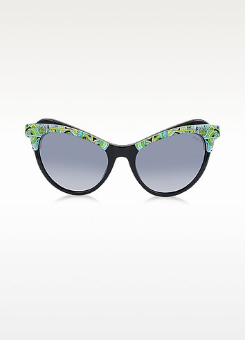 EP35 Fantasy Acetate Frame Cat Eye Women's Sunglasses - Emilio Pucci