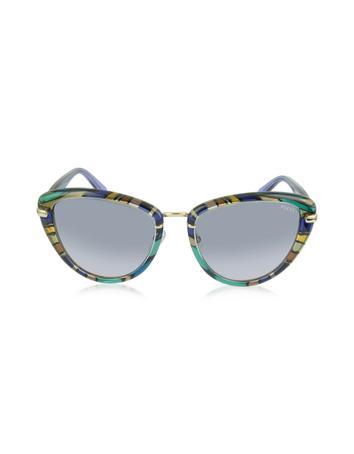 EP0011 Fantasy Acetate Frame Cat Eye Sunglasses