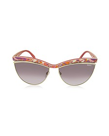 EP0010 Fantasy Acetate Cat Eye Women's Sunglasses - Emilio Pucci