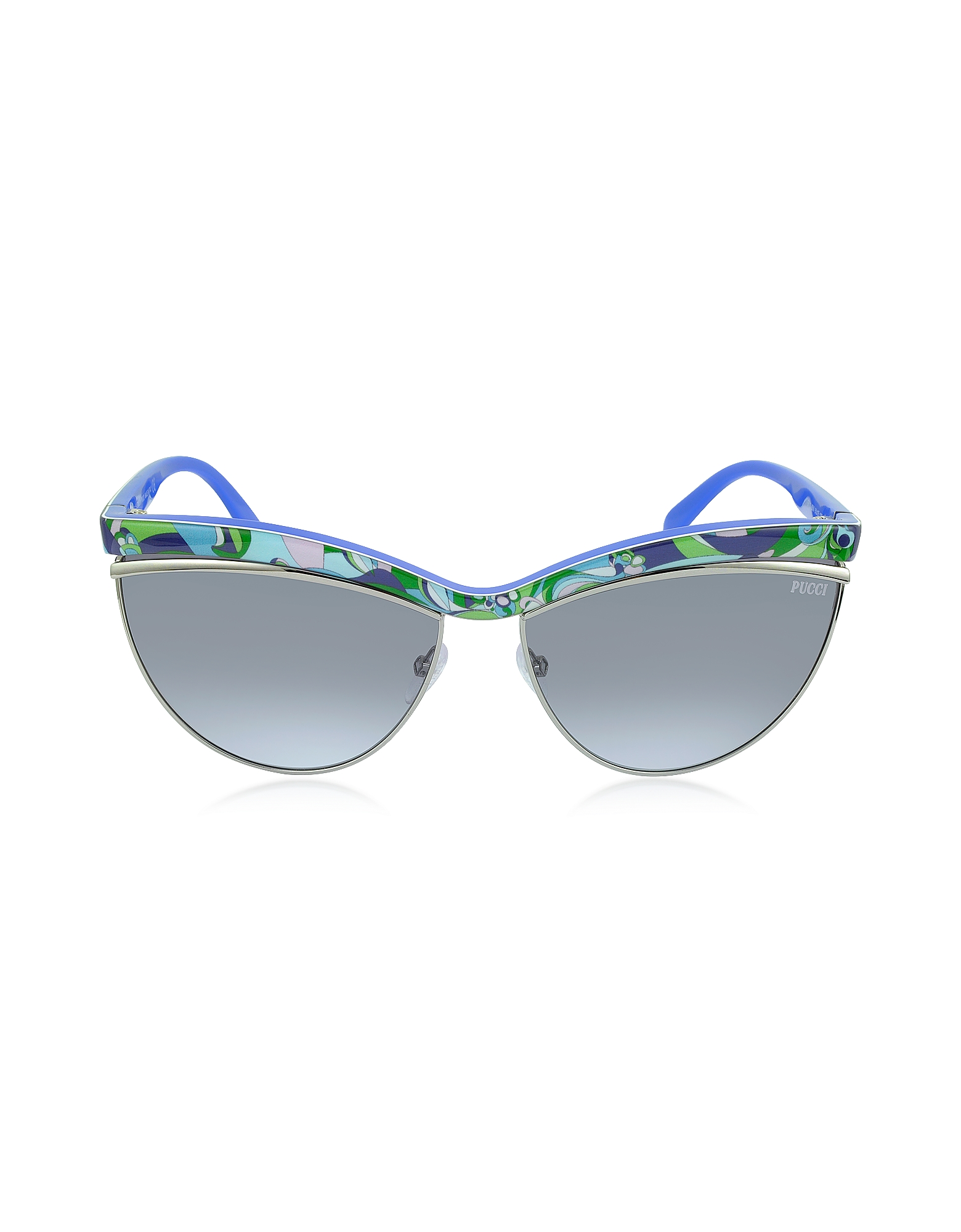 Emilio Pucci Sunglasses, EP0010 Fantasy Acetate Cat Eye Women's Sunglasses